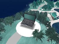 Fujitsu Siemens Computers eröffnet Insel im Second Life®