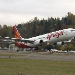Boeing, SpiceJet Celebrate Airline's First 737-900ER Delivery