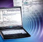 Compact and powerful programming device in notebook format for mobile use