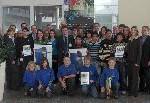 """Vier Schulen aus dem Regierungsbezirk Niederbayern gewinnen beim Wettbewerb """"Mobiles Lernen"""" Technologie von HP im Wert von rund 40.000 Euro"""