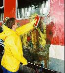 Bahn, Stadt, Land und Polizei kämpfen gemeinsam gegen Vandalismus