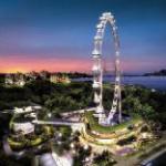 Das Formel Eins-Nachtrennen aus 165 Metern Höhe