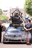 Nicolas Cage und Diane Kruger in Mercedes-Benz C-Klasse durch London