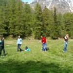 Aktiver Natururlaub im Trentino: Nordic Walking Club in den Dolomiten
