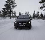 B-Klasse mit Brennstoffzellenantrieb bewährt sich bei Wintererprobung in Schweden
