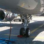 Flugzeug-Boxenstopp