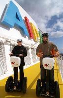 Neues Freizeitvergnügen auf AIDA: Segway-Touren