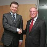 Bürgermeister der Stadt Sotschi besucht Volkswagen in Wolfsburg