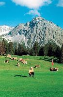 Arosa Kulm rosa Hotel & Alpin Spa: Golfparadies auf 1