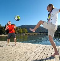 Wörthersee am Ball: Fan-Zonen am und auf dem Wasser