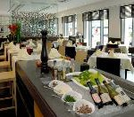 Berliner Restaurant HEat mit Nichtraucher-Frühstück