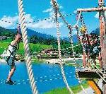 Abenteuersommer mit 1-2-FLY beim Family Adventure Flachau