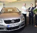 Mit CrossTouran das große Los bei Gewinnspiel von Volkswagen und TUI gezogen