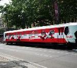 ÖBB auf der Wiener Fanmeile prominent vertreten