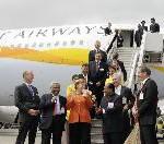 Jet Airways erhält neuen Airbus 330-200 auf der ILA in Berlin