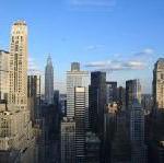 Vier Wasserfälle in New York City