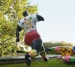 EURO 08: Die Schweiz ist auch in der Kunst im Fußballrausch