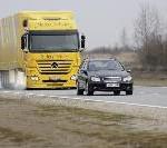 Rund die Hälfte der schweren Lkw-Unfälle ist vermeidbar