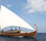 Neues Segel-Dhoni von Baros Maldives