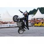BMW Motorrad Days 2008. Partystimmung mit Motorradfans aus der ganzen Welt.