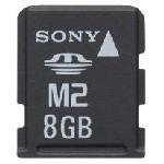 100 Prozent mehr Speicher: Sonys Memory Stick Micro (M2) mit acht Gigabyte Kapazität