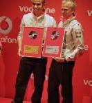 Motorsport meets Music: Vodafone Music Memory mit Lewis Hamilton und Heikki Kovalainen