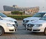 Olympische Fahrzeugflotte von Volkswagen geht an den Start