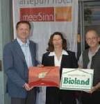 Bio-Zertifikat für das artepuri® hotel meerSinn auf Rügen