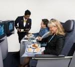 Continental Airlines präsentiert neuen Lie-Flat-Sitz für die BusinessFirst Kabine