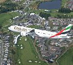 Flyover of Emirates' Boeing 777-200LR Launches Boeing Classic Golf Tournament