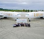 Boeing Delivers Two 777 Models to Emirates