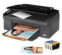 Epson Stylus SX100-Serie: Der Kompakte zum Drucken, Scannen und Kopieren für zu Hause