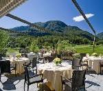 Parkhotel Delta Ascona: Abschlag vor inspirierender Herbstkulisse