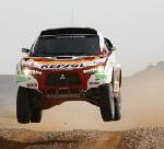 Mitsubishi bei der Rallye Dakar (3. bis 18. Januar 2009)