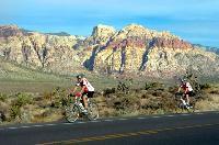 Mit dem Mountainbike durch die Wüste Nevadas