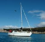 Tasmanien vom Wasser aus auf einer Yacht