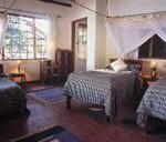 Sambia über Nacht in Robin's House im Nkwali Camp