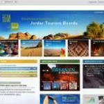Neuer Look der Website visitjordan.com