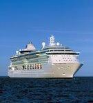 An Bord der Brilliance of the Seas der Wintersonne entgegen
