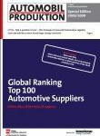 Exklusiv: 'Global Ranking Top 100 Automotive Suppliers' – als Sonderheft der AUTOMOBIL-PRODUKTION jetzt erhältlich