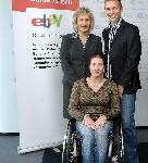 Scheckübergabe an den Deutschen Behindertensportverband e.V. (DBS)