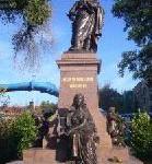 Mendelssohn-Denkmal steht wieder in Leipzig