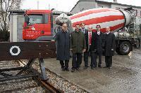 TransportBeton und Rail Cargo Austria bringen 220.000 Tonnen Kies auf die Schiene