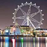 Melbourne lockt mit drittgrößtem Riesenrad der Welt