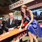 Etihad stand shines at the World Travel Market with celebrity visits