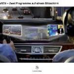 Innovative SPLITVIEW Technik: Mercedes-Benz S-Klasse: Zwei Programme auf einem Bildschirm