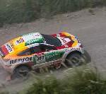 Mitsubishi Racing Lancer behauptet sich im Spitzenfeld