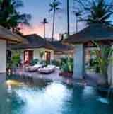 Neue Ferien-Villen des Jimbaran Puri Bali