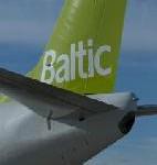 Air Baltic auf der Fespo Zürich
