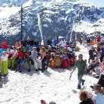 Ein Wohnzimmer im Schnee – St. Anton am Arlberg feiert die SpringFestival Woche